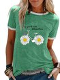 Casual Printed Short Sleeve T-Shirt