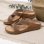 Summer Pu Rhinestone Slippers
