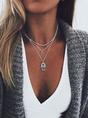 Bohemian  multi-layer necklace