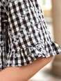Women Elegant Cotton Shirt Collar Shirts & Top