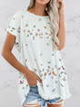 Casual Short Sleeve Top