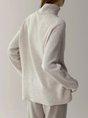 Casual Acrylic Long Sleeve Sweater