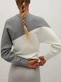 Long Sleeve Holiday Shift Sweater