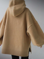 Long Sleeve Casual Wool Blend Solid Sweater