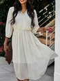 A-Line Jacquard Holiday Midi Dress