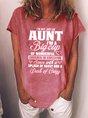 I'm Not Just An Aunt Women's T-shirt