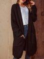 Black Long Sleeve Cocoon Sweater