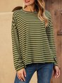 Long Sleeve Shift Casual Top
