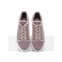 Pink Comfort Casual Lace-up Platform Sneakers