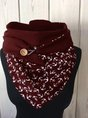 Anchor Csual Knitted Scarf And Shawl