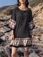 A-Line Casual Mini Dress