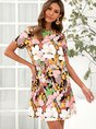 Polyester Fibre Holiday Dress