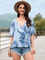 Ombre/tie-Dye Boho T-Shirt