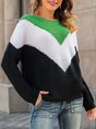 Shift Crew Neck Long Sleeve Casual Sweater