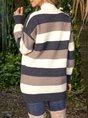 Long Sleeve Turtleneck Casual Sweater Dress